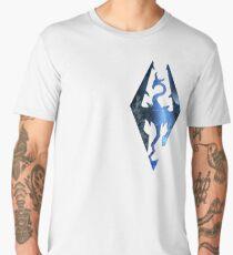 Skyrim Logo - Magic Men's Premium T-Shirt