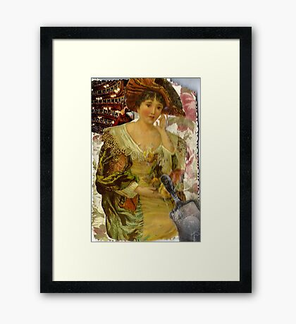 What Hath Time Wrought? Framed Print