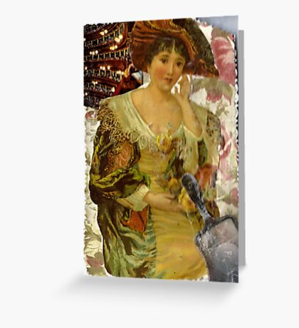 What Hath Time Wrought? Greeting Card