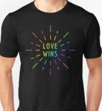LOVE WINS GAY PRIDE  Unisex T-Shirt