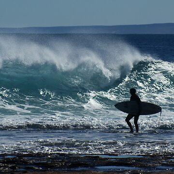 Surfer by MelvaVivian