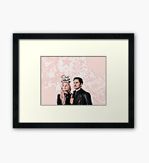 The Pirate and his princess Framed Print