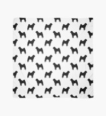 Chinese Shar-Pei Silhouette(s) Scarf