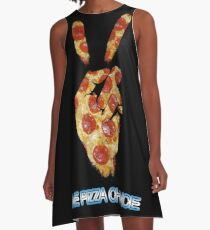 Give Pizza Chance A-Line Dress