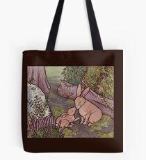 A Kiss on the Nose For Mama Bunny Tote Bag