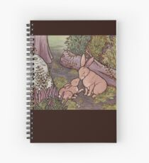 A Kiss on the Nose For Mama Bunny Spiral Notebook