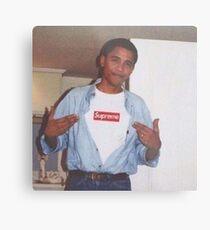 Young Obama Metal Print