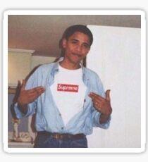 Young Obama Sticker