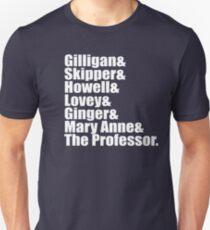 Gilligan's Island Cast Unisex T-Shirt