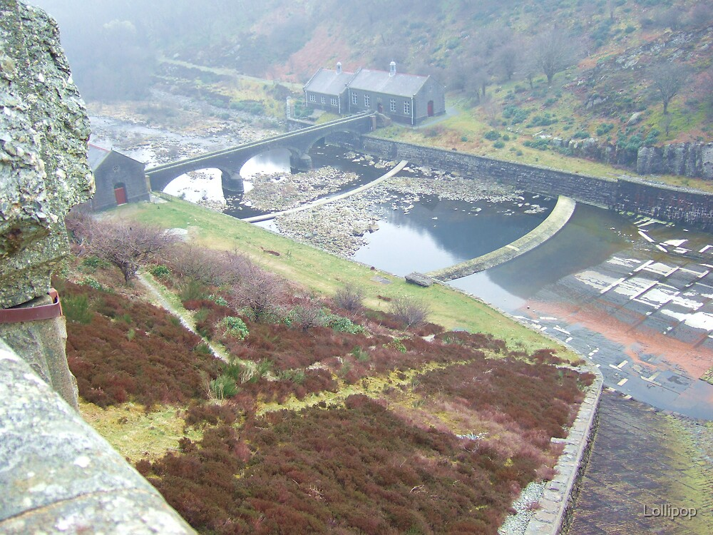 Wales and the dam by Lollipop