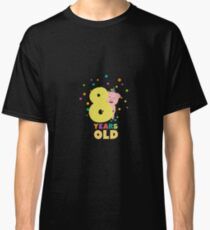 Eight Years old Eighth Birthday Party Rs3e3 Classic T-Shirt
