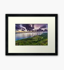 Golf Course Lookout Framed Print