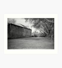 The Old Richmond Gaol Art Print