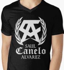 canelo alvarez Men's V-Neck T-Shirt