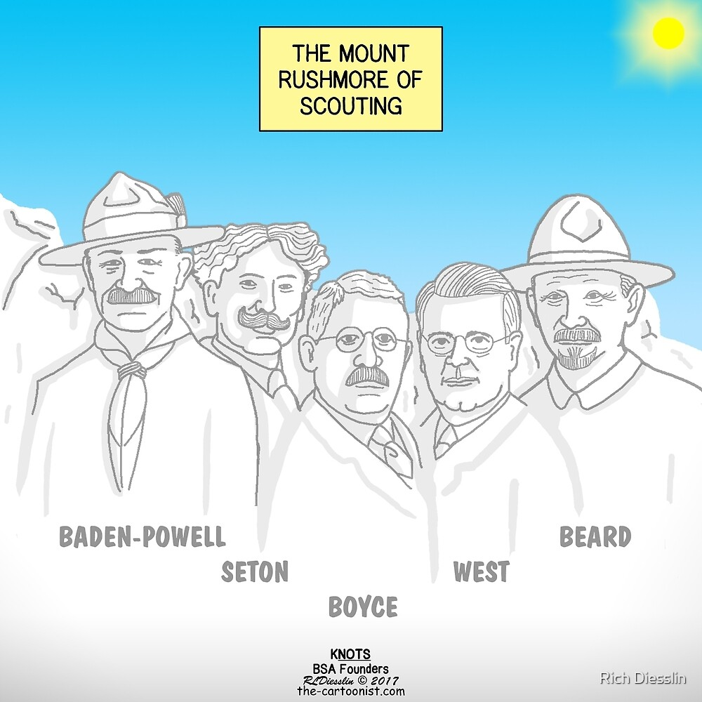 Founders of Modern Scouting by Rich Diesslin