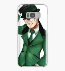 The Riddler is Coming Samsung Galaxy Case/Skin