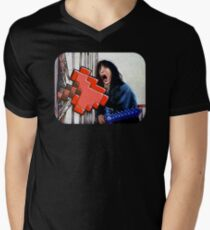 Here's Minecraft!  Mens V-Neck T-Shirt