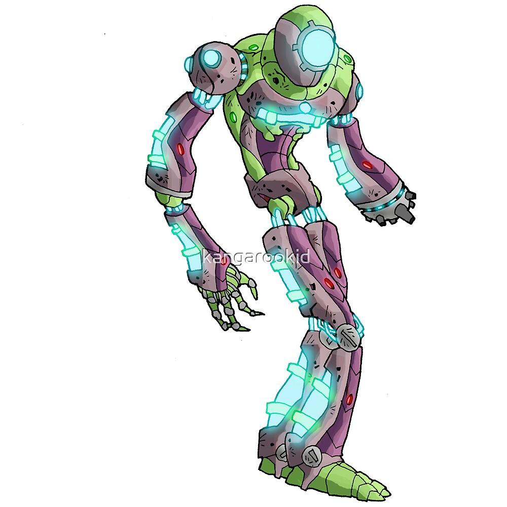 guardian bot II by kangarookid