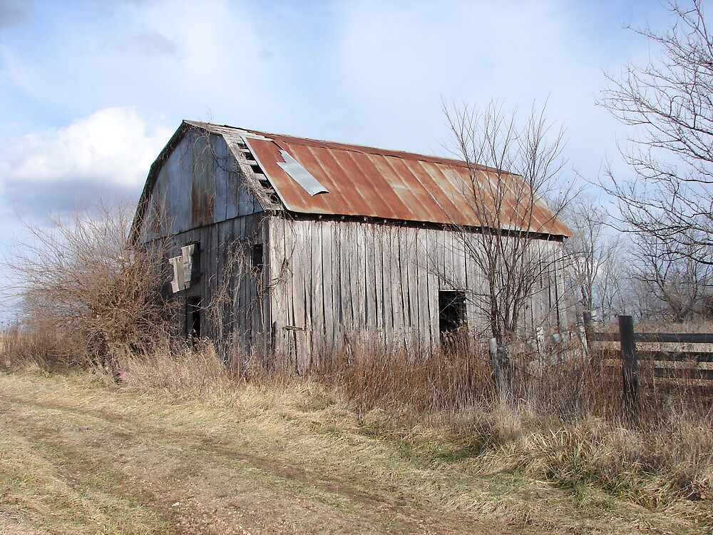 Highway A Barn by inventor