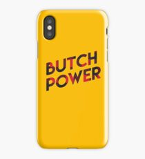 Butch Power iPhone Case