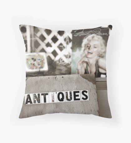 Icons of my youth Throw Pillow