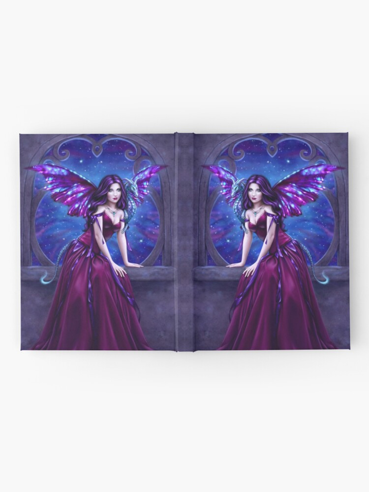 Alternate view of Andromeda Dragon Hardcover Journal