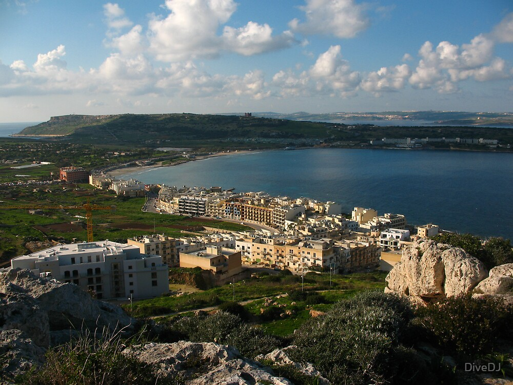 Malta Landscapes the North by DiveDJ