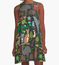 Funny australian animals A-Line Dress