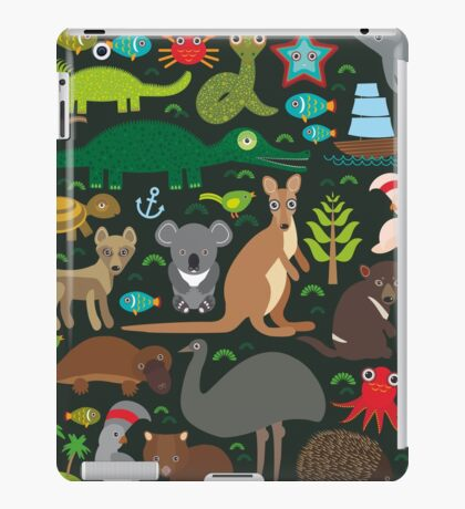 Funny australian animals iPad Case/Skin