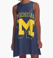 The Michigan State M A-Line Dress