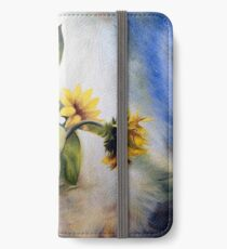 """Oil painting """"Sunflower"""" iPhone Wallet/Case/Skin"""
