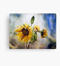 "Oil painting ""Sunflower"" Canvas Print"