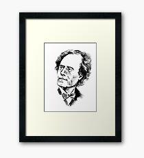 Gustav Mahler Framed Print