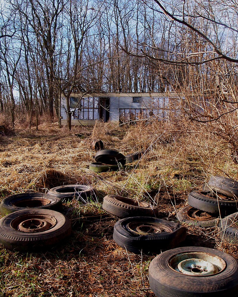 The Tire Yard by Mikenna