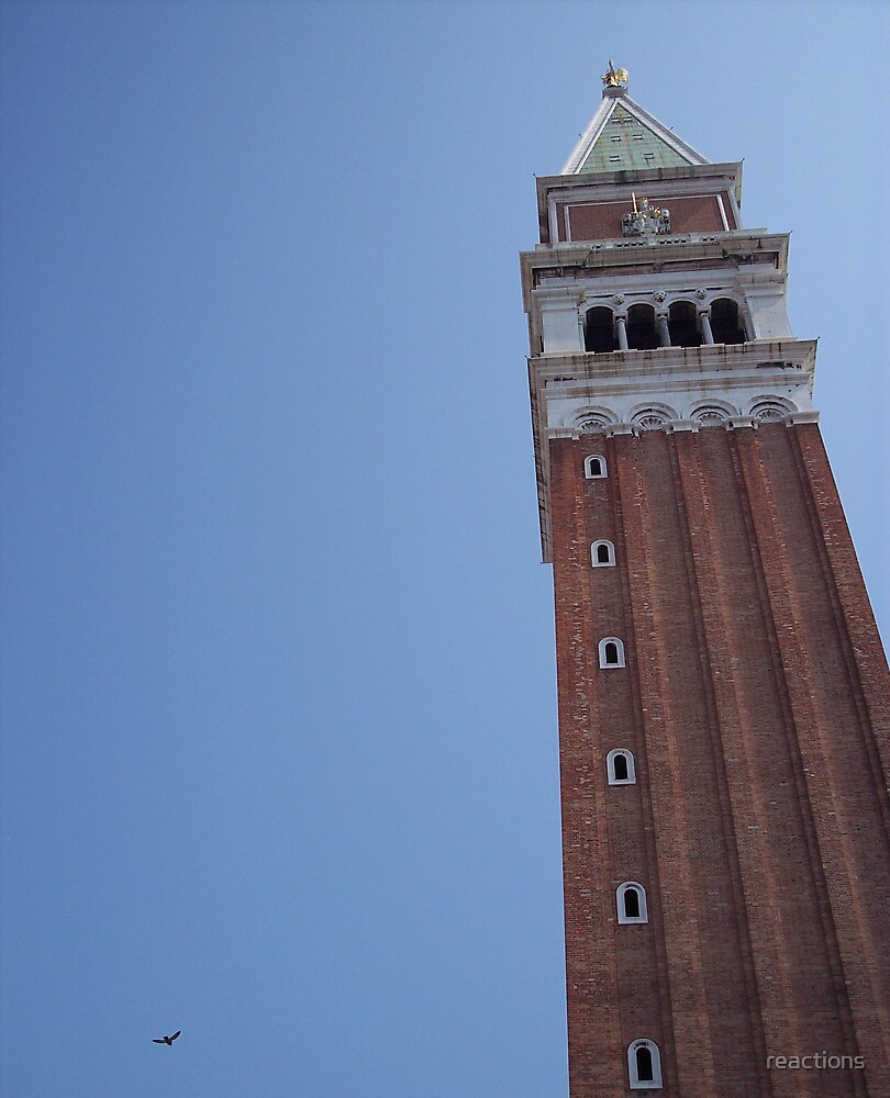 St. Mark's Campanile by reactions