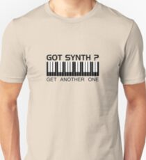 Got Synth Black Color Unisex T-Shirt