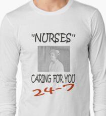 Nurses Caring For You Long Sleeve T-Shirt