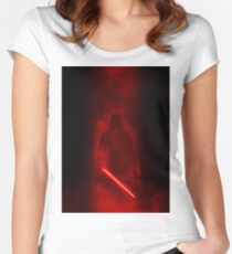 Star Wars Darth Vader  Women's Fitted Scoop T-Shirt