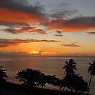 Tahiti sunset by Kasia  Kotlarska