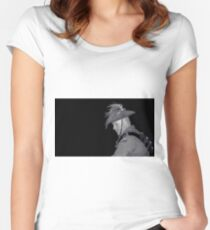 Contemplating Past Sacrifices Women's Fitted Scoop T-Shirt