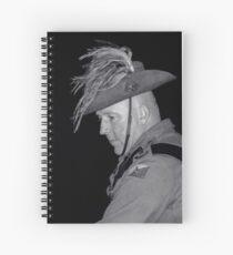 Contemplating Past Sacrifices Spiral Notebook
