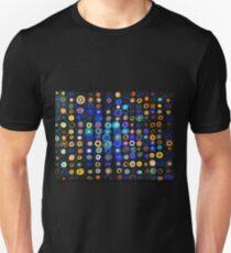 Organised Multiverses - Vibrant seamless pattern Unisex T-Shirt