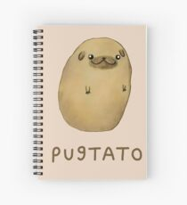 Pugtato Spiral Notebook