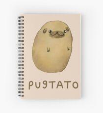 Pugtato Spiral Notebook