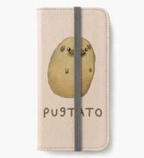 Pugtato iPhone Flip-Case/Hülle/Skin