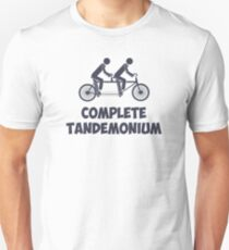 Tandem Bike Complete Tandemonium T-Shirt