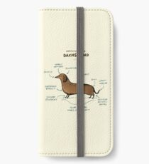 Anatomy of a Dachshund iPhone Wallet/Case/Skin