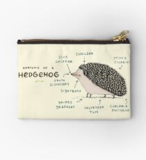 Anatomy of a Hedgehog Studio Pouch