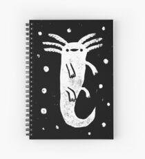Axolotl Print Spiral Notebook