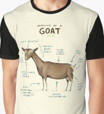 Anatomie einer Ziege Grafik T-Shirt